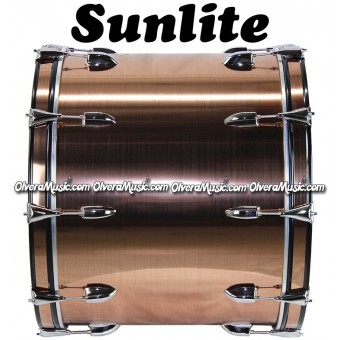 SUNLITE 18x24 Bass Drum Gold/Bronze Color