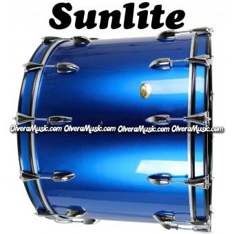 SUNLITE 18x24 Tambora Para Banda Color Azul Metálico