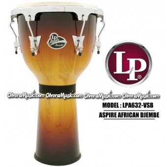 LP Aspire Accents Djembe - Vintage Sunburst