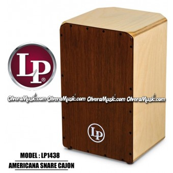 LP Americana Snare Cajon