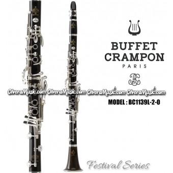 "BUFFET ""Festival"" Clarinete Profesional de Madera - Sibemol"