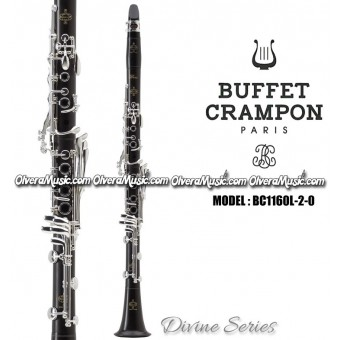 "BUFFET ""Divine"" Clarinete Profesional de Madera - Sibemol"