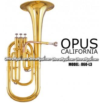 OPUS Corsair Eb Alto Horn - Lacquer Finish