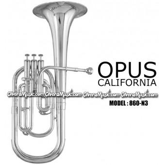 OPUS Corsair Eb Alto Horn - Nickel Finish