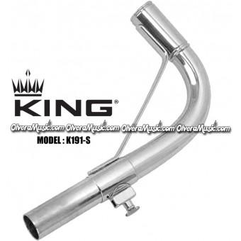 KING Sousaphone/Tuba Neck Silver Plate Finish - Old Model