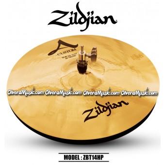 """ZILDJIAN A Custom 14"""" Hi-Hat Cymbals"""