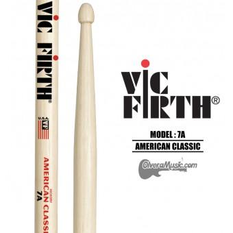 "Vic Firth (7AW) Baquetas Linea ""American Classic"" Punta de Madera"