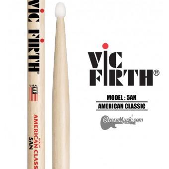 """Vic Firth (5AN) Baquetas de Nylon """"Americano Classico"""""""