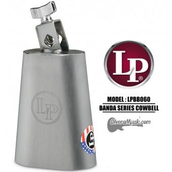 "LP Banda Cowbell - 6"" Brush Steel Finish"