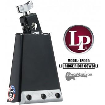 "LP Li'l Ridge Rider Cowbell - 5.5"" Mountable, Black Finish"