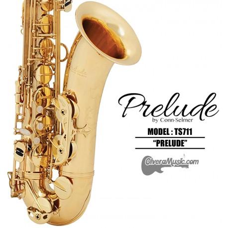 Selmer Prelude Student Model Bb Tenor Saxophone Dark Lacquer Body Olvera Music