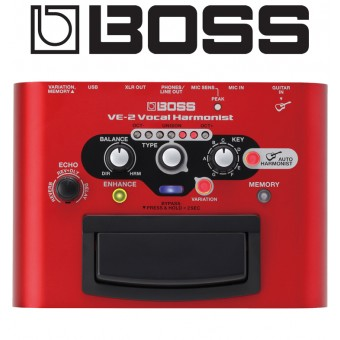 BOSS Vocal Harmonist Pedal