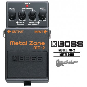 BOSS Metal Zone Distortion Guitar Effects Pedal