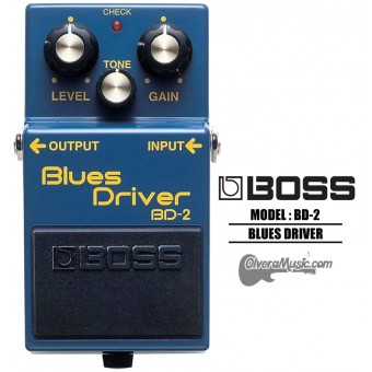 BOSS Blues Driver Distortion Guitar Effects Pedal