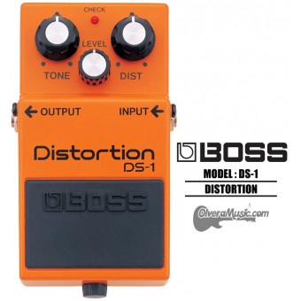 BOSS Distortion Pedal de Efectos para Guitarra