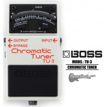 BOSS Chromatic Tuner/Power Supply Guitar Effects Pedal