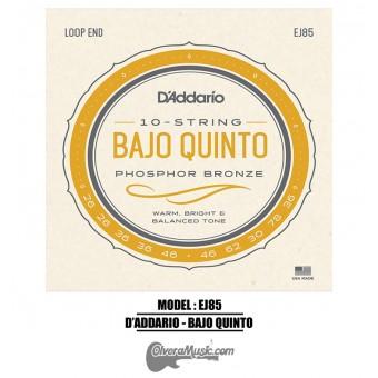 D'Addario (J85) Bajo Quinto Strings