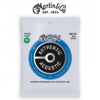 Martin (M170) Traditional X-Light Acoustic Guitar Strings