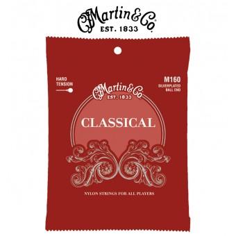 MARTIN Silver-Plated Ball-End Classical Guitar Strings - High Tension