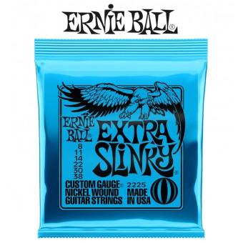 Ernie Ball (2225) Cuerdas Extra-Slinky Para Guitarra Electrica