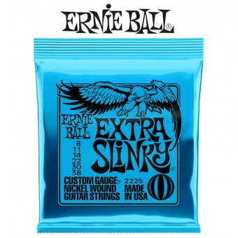 Ernie Ball (2225) Extra Slinky Nickel Wound Electric Guitar Strings