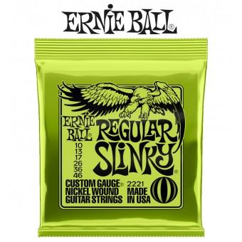 Ernie Ball (2221) Regular Slinky Nickel Wound Electric Guitar Strings