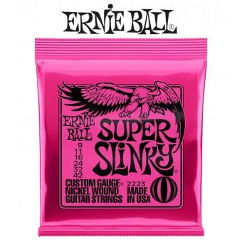 Ernie Ball (2223) Super Slinky Nickel Wound Electric Guitar Strings