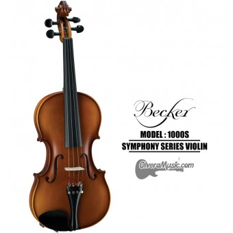 BECKER Symphony Series Satin Brown Violin