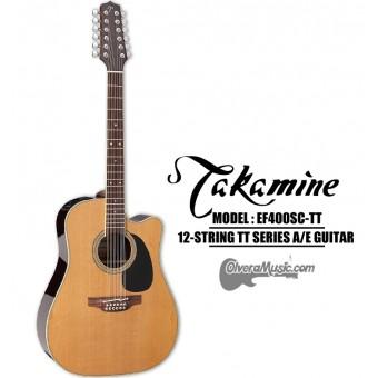 "TAKAMINE ""TT"" Series Acoustic/Electric 12-String Guitar - Thermal Top"