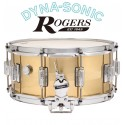 ROGERS 14x6.5 B7 Brass Dyna-Sonic Snare