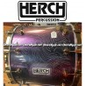 HERCH Bass Drum 20x24 Purple-Chameleon w/Engraving 12-Lug
