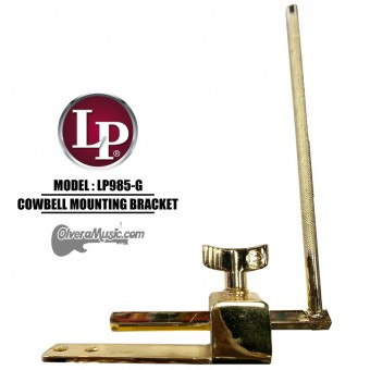 LP Cowbell Mounting Bracket for Tito Puente Timbales - Gold Color