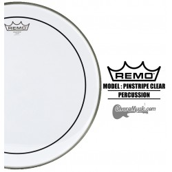 REMO Pinstripe Drumhead - Clear
