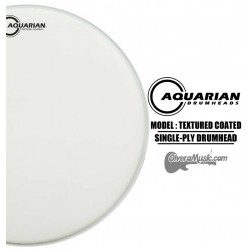 AQUARIAN Textured Coated Single-Ply Drumhead