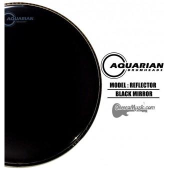 AQUARIAN Reflector Black Mirror - Parche