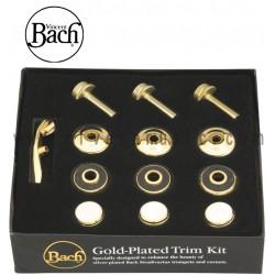 Bach Gold Trim Kit para Trompeta