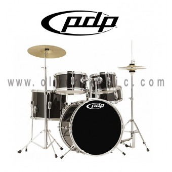 PDP Player Kit 5-Piece Jr. Drum Set - Black