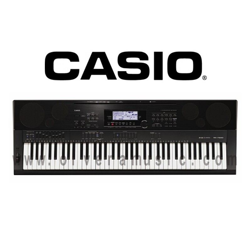 casio 76 key piano style keyboard olvera music. Black Bedroom Furniture Sets. Home Design Ideas