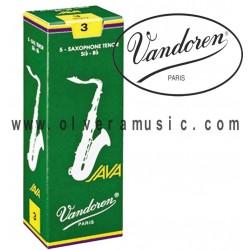 VANDOREN JAVA Cañas para Saxofon Tenor