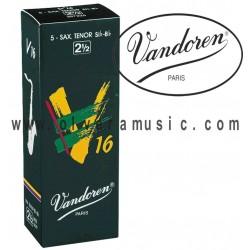 VANDOREN V16 Cañas para Saxofon Tenor