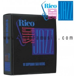 RICO SELECT Jazz Soprano Saxophone Reeds
