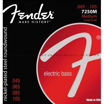 FENDER Nickel Plated Steel Electric Bass Strings