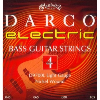 DARCO by Martin Nickel Plated Bass Guitar Strings