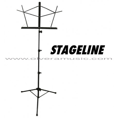 Stageline (MS25BKB) Tubular Music Stand