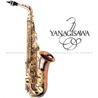"YANAGISAWA ""Serie WO"" Saxofón Alto Profesional - Bronze"