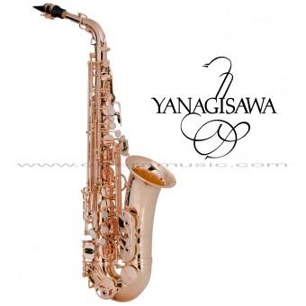 "YANAGISAWA ""Serie WO"" Saxofón Alto Profesional - Bronze/Rosa Dorado"