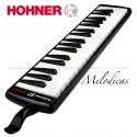 """Hohner (S37) """"Performer"""" Piano Style Melodica - Black"""