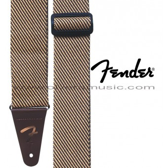 "FENDER ""Vintage Tweed"" Correa Para Guitarra"