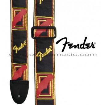 "FENDER Monogrammed Guitar Strap 2"""