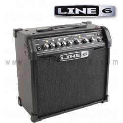 Line 6 Spider IV 15 15W 1x8 Amplificador Para Guitarra Combo